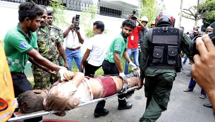 Число жертв взрывов на Шри-Ланке достигло 290