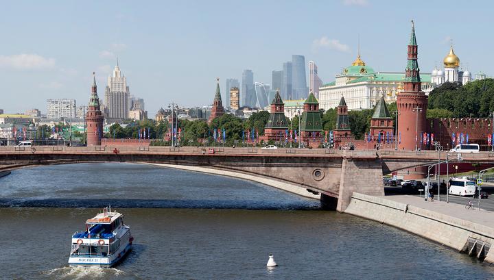 В Москве открывается речная навигация