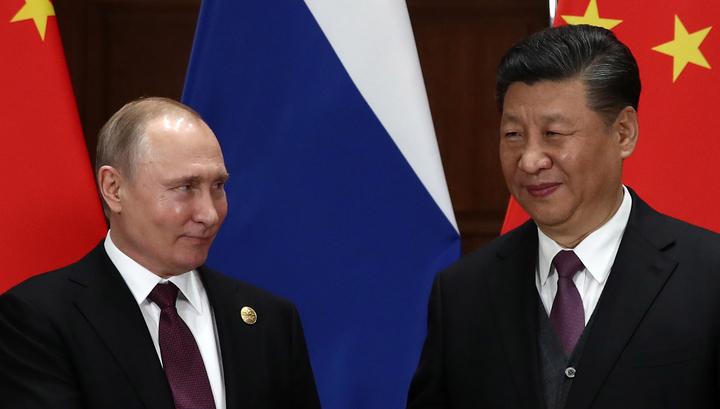 Путин и Си обменялись подарками