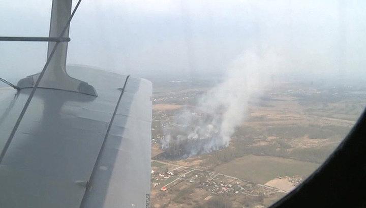 Природные пожары в России охватили 7,5 тысячи гектаров