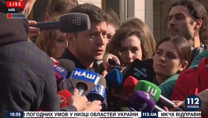 Зеленский уклонился от ответа на вопрос о роспуске Рады