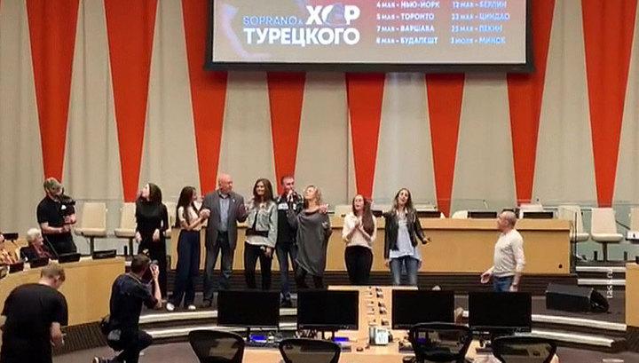 Небензя спел военные песни в штаб-квартире ООН