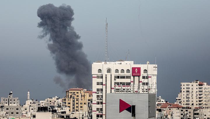 Израиль вновь нанес удары по сектору Газа