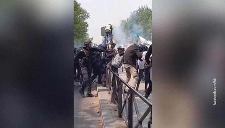 СЖР: полиция Франции не отвечает за нападения на журналистов