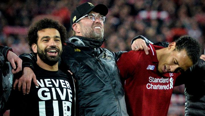"""Тренер """"Ливерпуля"""" Клопп: не знаю, как ребята это сделали"""