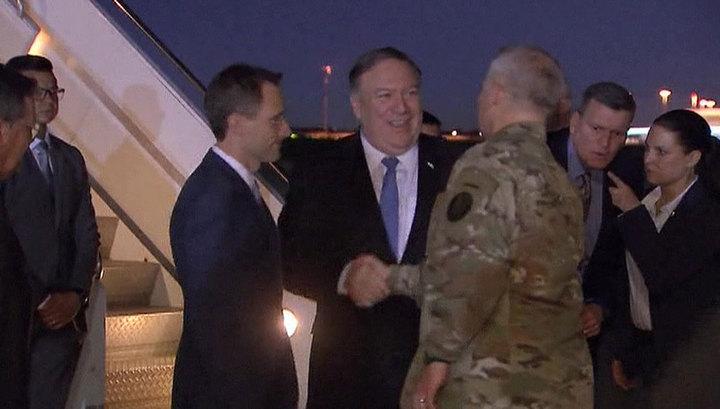Помпео раскрыл подробности своего внезапного визита в Ирак
