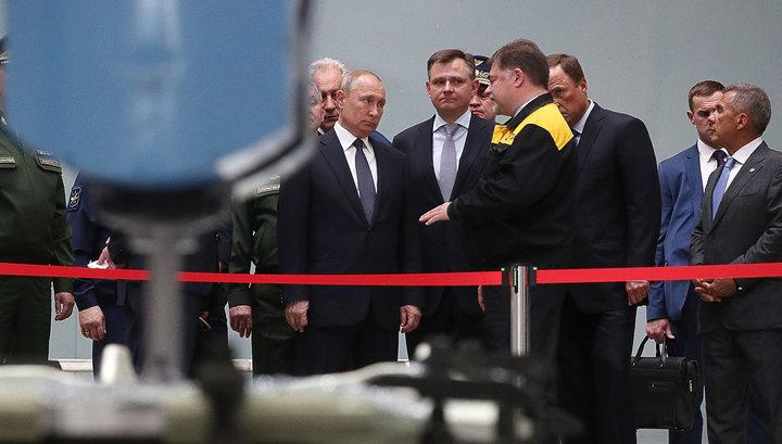 Путину в Казани показали новейшую авиатехнику