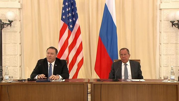 Лавров и Помпео надеются на улучшение отношений России и США