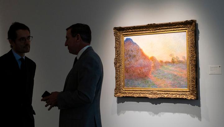 "Клод Моне дорожает: Sotheby's продал ""Стога"" за рекордную цену"