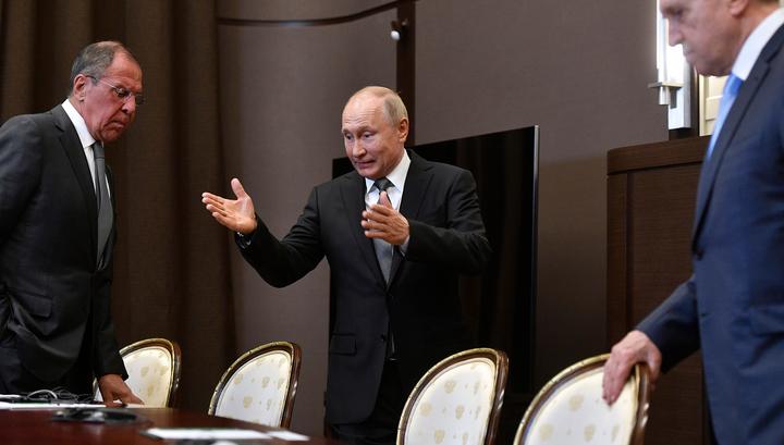 РФ - США: Путин и Помпео об итогах переговоров