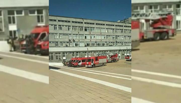 Из РУДН эвакуировали 1500 человек из-за пожара