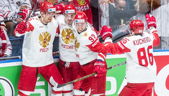 Сборная России взяла верх над швейцарскими хоккеистами на чемпионате мира
