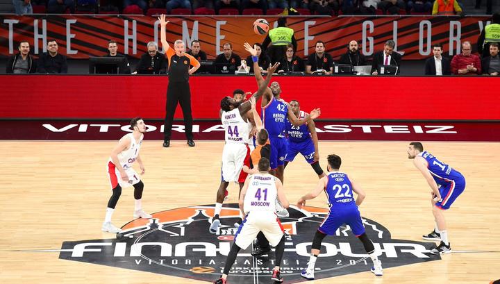 Баскетболисты ЦСКА стали победителями Евролиги