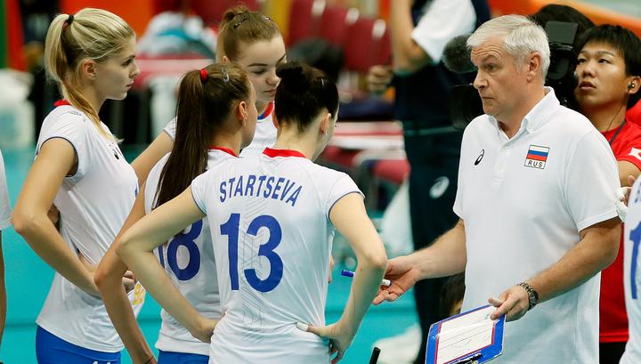Российские волейболистки с поражения стартовали в Лиге наций