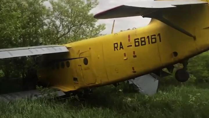 У загоревшегося при взлете Ан-2 мог отказать двигатель