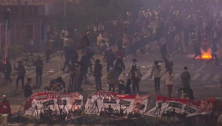 Беспорядки в Джакарте: 6 человек погибли, более 200 пострадали