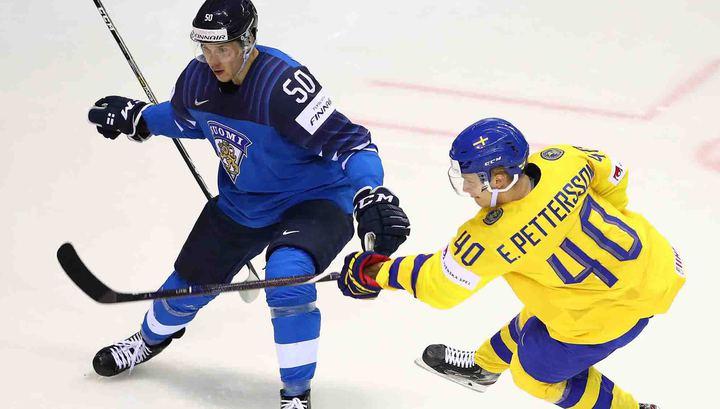 Финны победили шведов и в полуфинале сыграют со сборной России