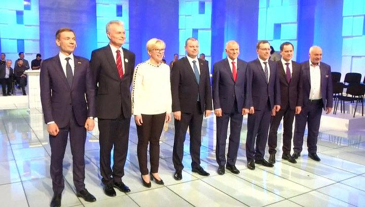 В Литве ждут начала второго тура президентских выборов