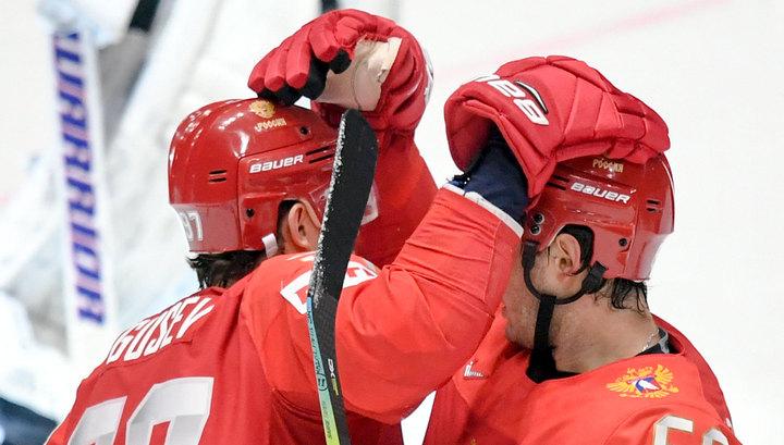 Сборная России выиграла бронзу чемпионата мира по хоккею