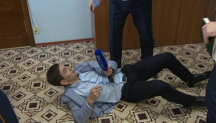 """""""Единая Россия"""" извинилась за действия чиновника, напавшего на журналиста ВГТРК"""