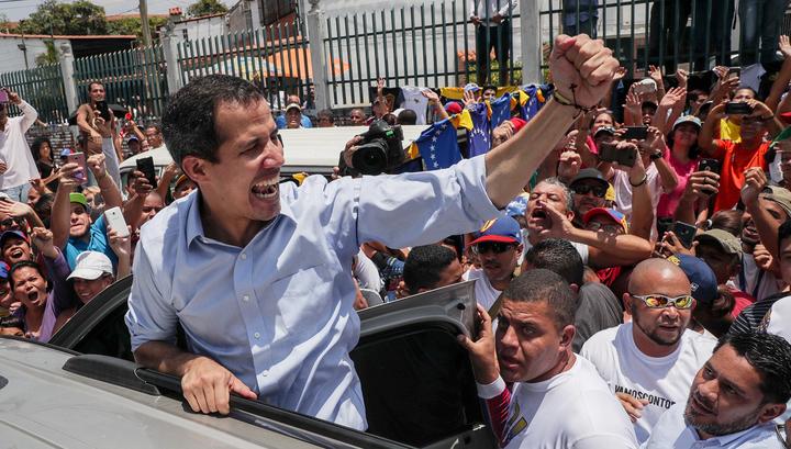 Гуайдо надеется на Норвегию в переговорах с Мадуро