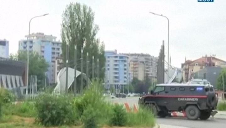Сербская армия приведена в боеготовность из-за волнений на севере Косова