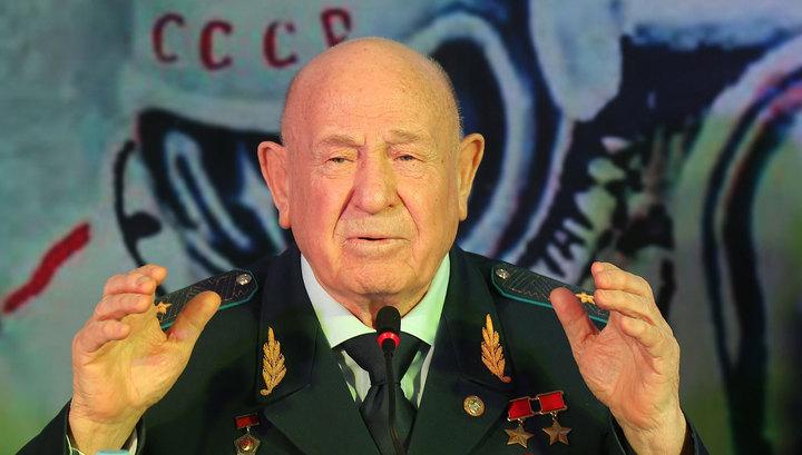 Россия простилась с первым человеком в открытом космосе