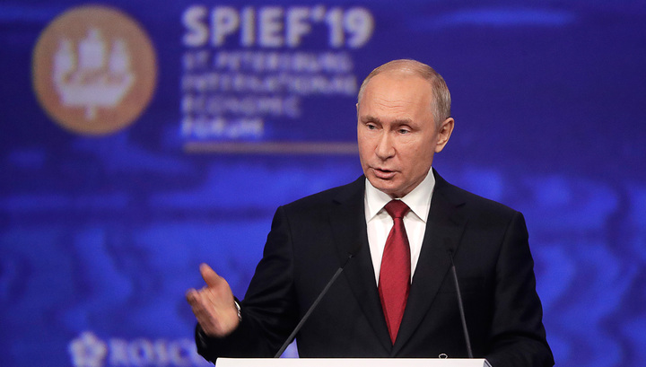 Путин рассказал о двигателе экономики и торпедировании СП-2