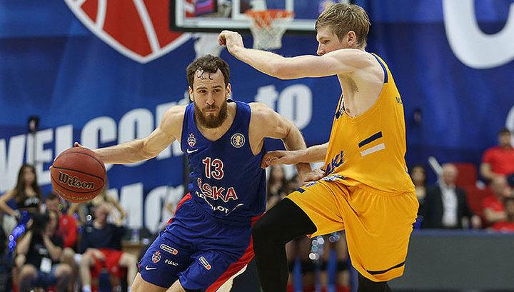 Баскетболисты ЦСКА в восьмой раз подряд выиграли единую лигу ВТБ