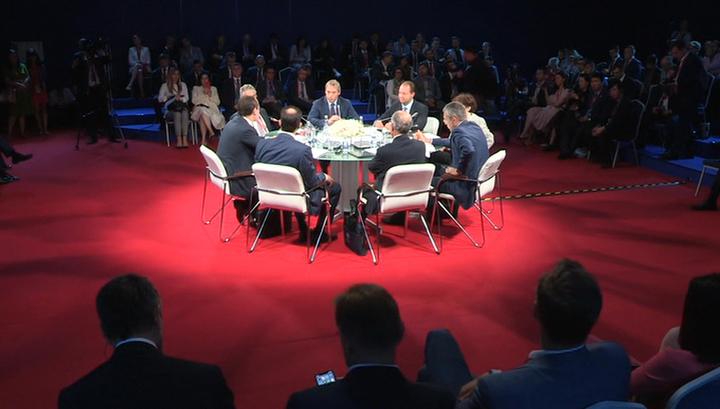 Третий день ПМЭФ откроется бизнес-диалогом России и Азербайджана
