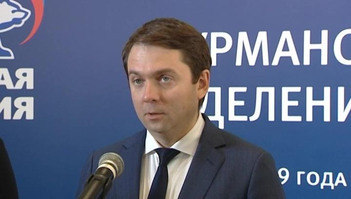 Чибис выдвинут кандидатом в губернаторы Мурманской области
