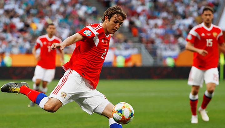 Сборная России одержала нелегкую победу над командой Кипра