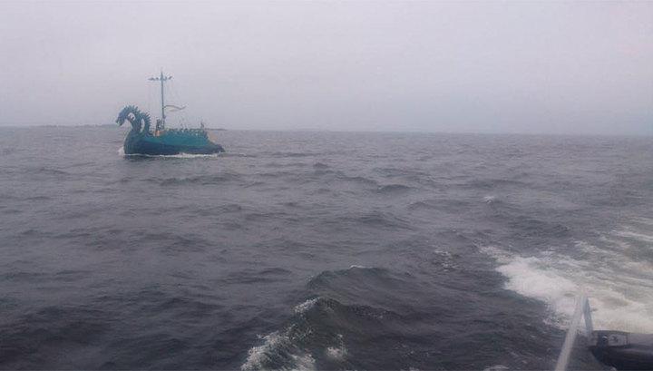 Финские пограничники приняли российскую яхту за трехглавое чудовище