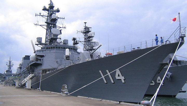 """Японский эсминец """"Судзунами"""" прибыл во Владивосток для участия в учениях"""