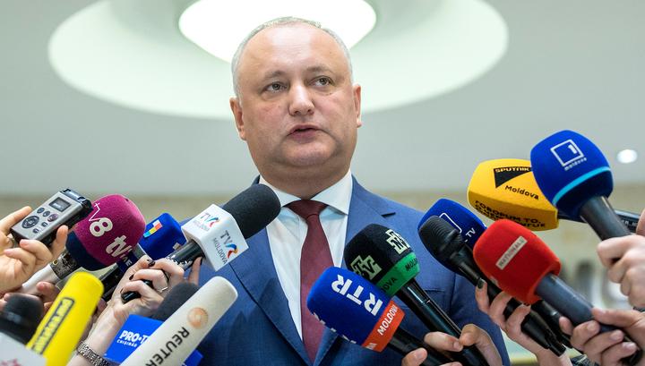 Президент Молдавии: давление на республику будет возрастать