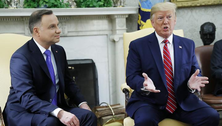 Трамп: США перебросят в Польшу тысячу солдат