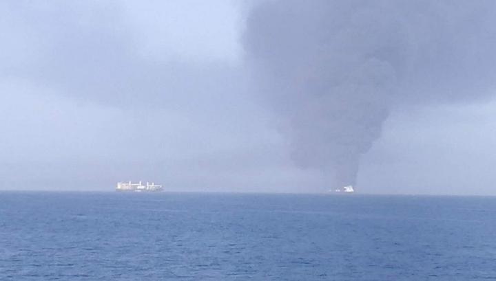 Один из танкеров, атакованных в Оманском заливе, затонул