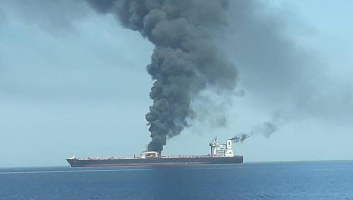 Пожар на танкерах произошел на фоне обострения отношений между Ираном и США