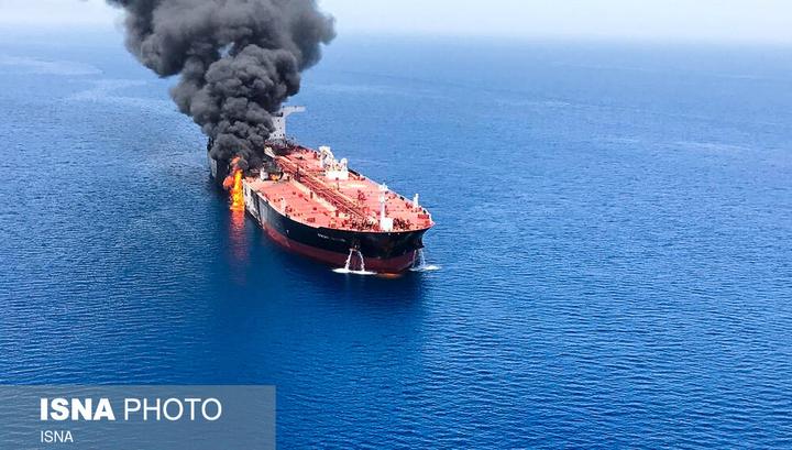 Оманский залив: экипаж судна, пришедшего на помощь танкерам, слышал три серии взрывов