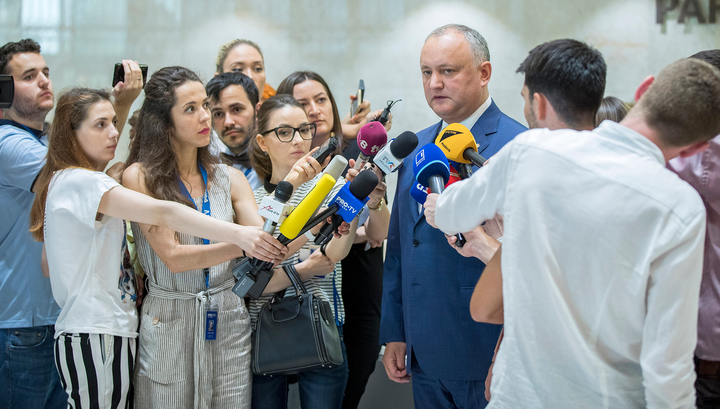 Молдавия обсудила политический кризис со странами G7