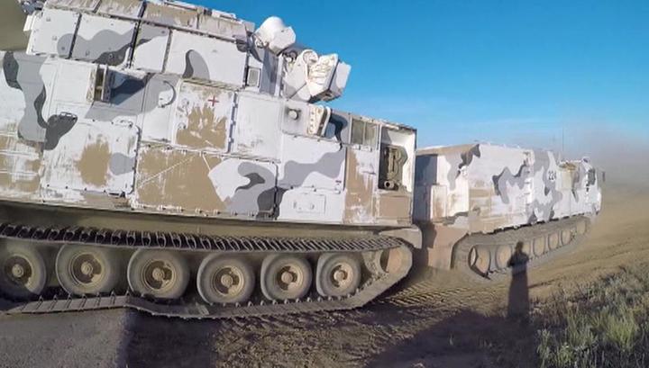В Астраханской области прошли стрельбы из арктических ЗРК