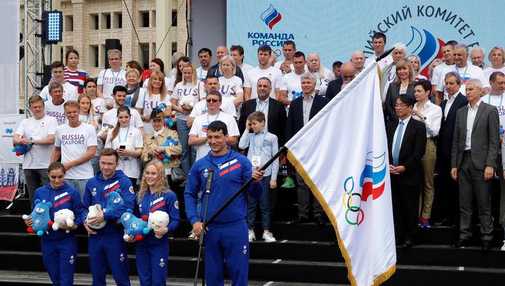 Олимпийскую сборную России проводили на Европейские игры