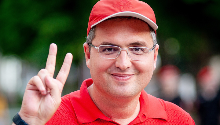 Молдавского оппозиционера Ренато Усатого выпустили на свободу