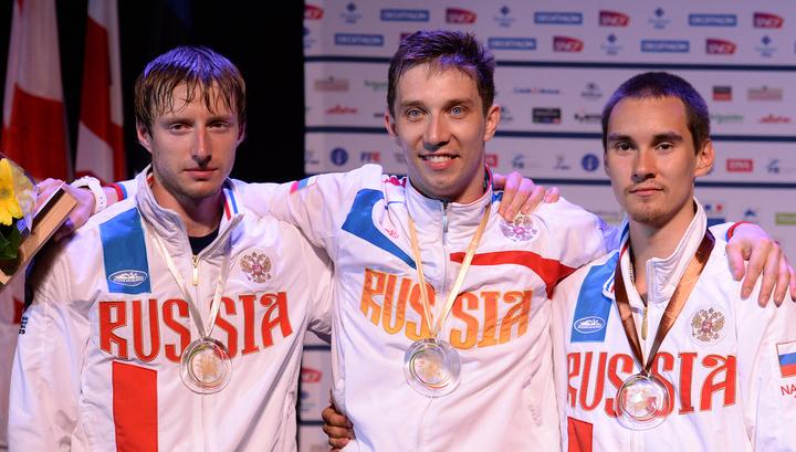 Фехтование: новые медали сборной России на чемпионате Европы