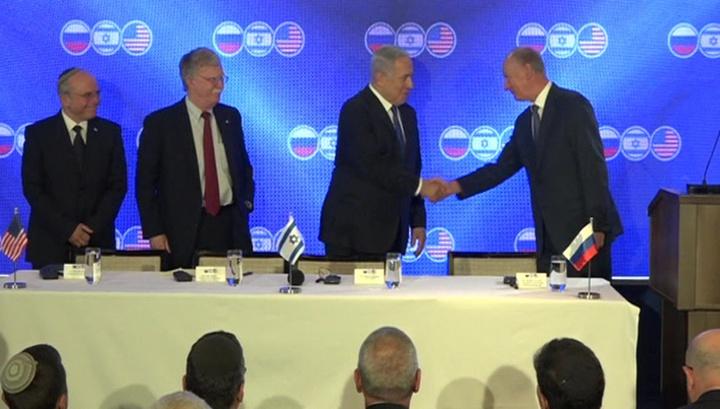 Впервые в истории. В Иерусалиме встретились главы советов безопасности США, Израиля и России