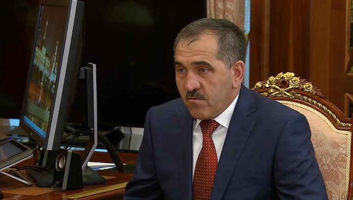 Путин принял отставку Евкурова и назначил врио главы Ингушетии
