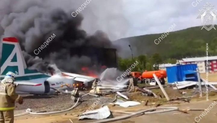 Второй пилот выжил при аварийной посадке Ан-24 и дает показания