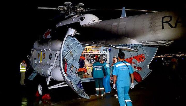 Пострадавшие при аварийной посадке самолета Ан-24 доставлены в Улан-Удэ