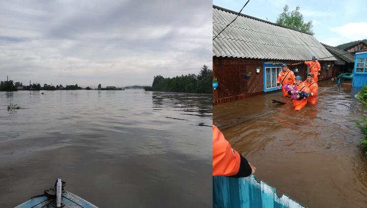 ЧП в Иркутской области: людей спасают из зоны затопления