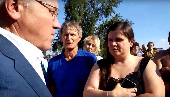 Я тоже могу качнуть: красноярский губернатор отреагировал на вопрос жителей Канска